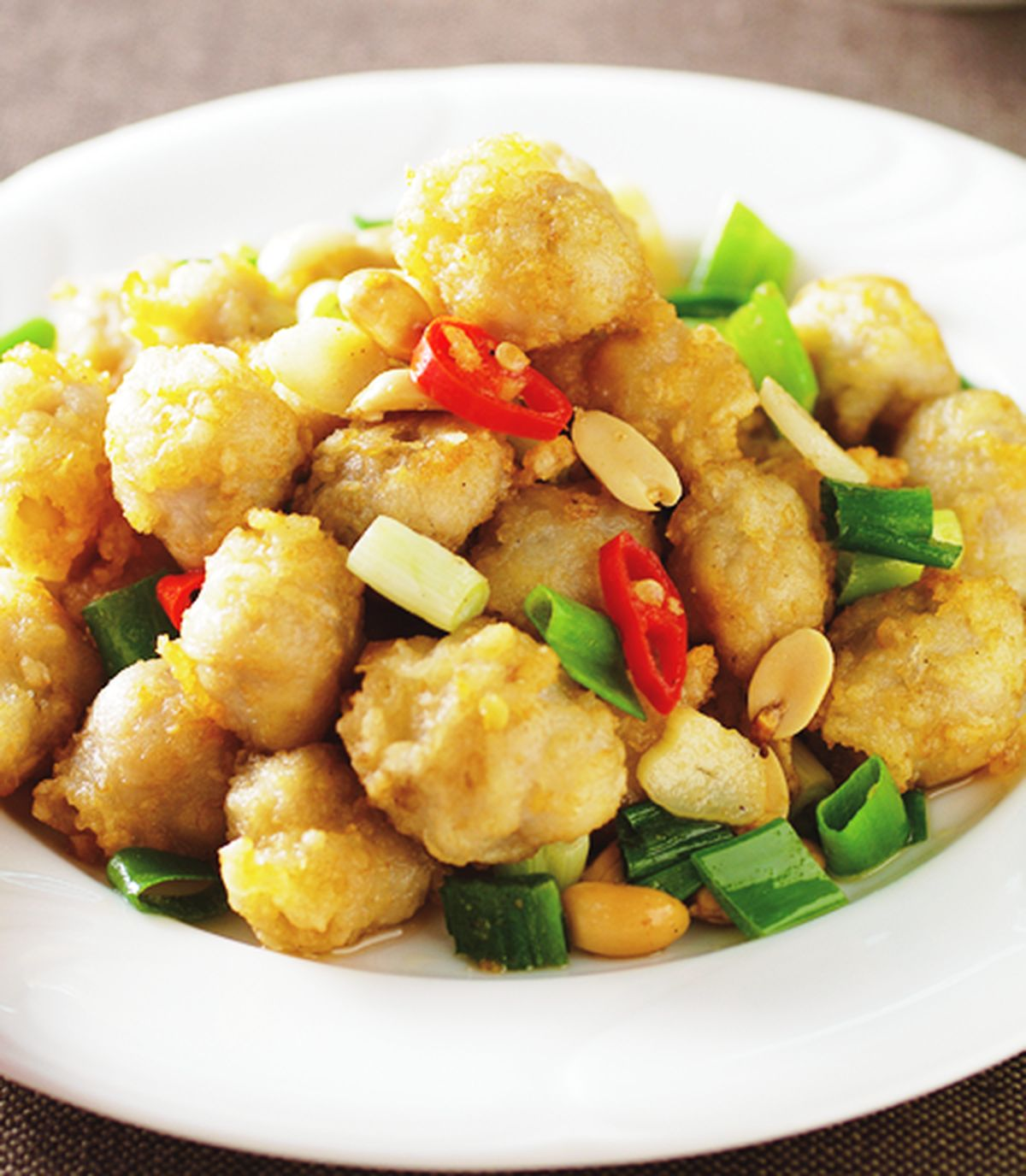 食譜:椒鹽龍珠(4)