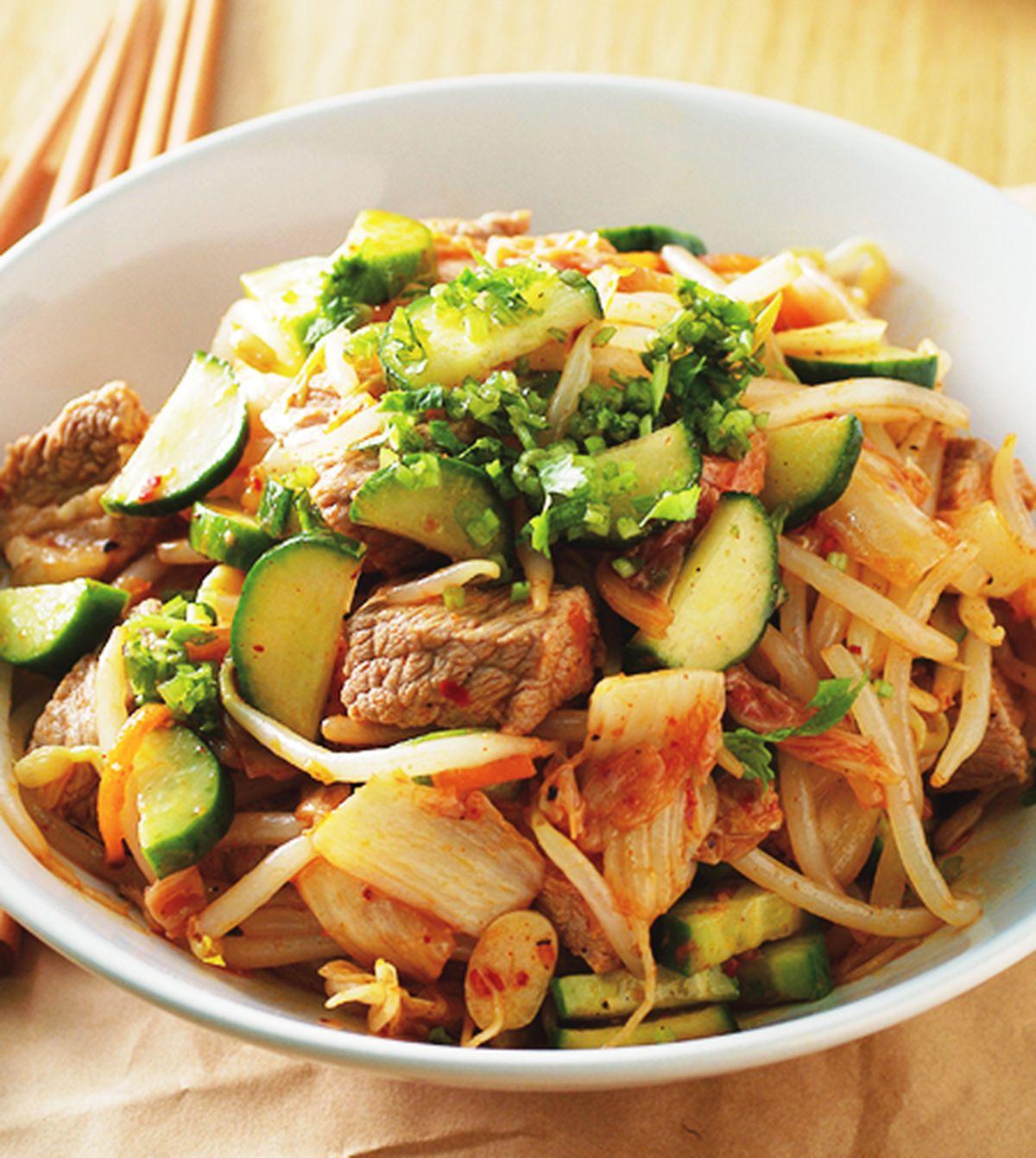 食譜:泡菜拌牛肉
