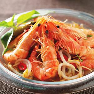 泰式銀芽開味蝦