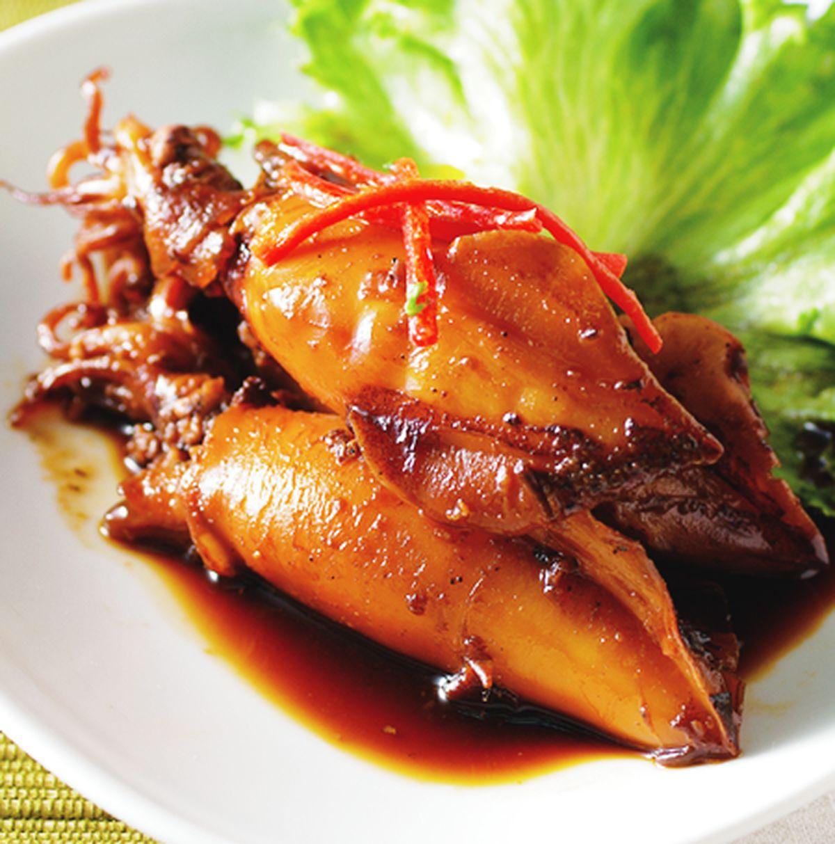 食譜:日式薑味小卷
