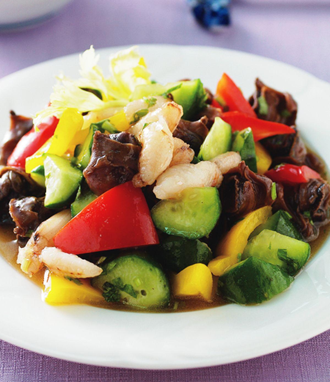 食譜:蒜辣黃瓜螺肉