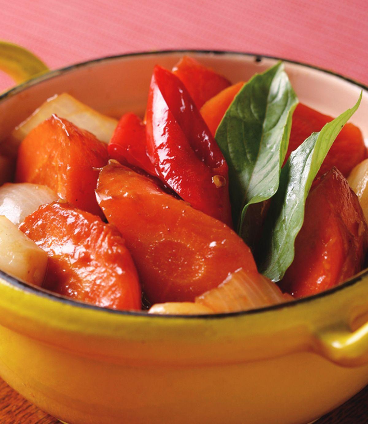 食譜:三杯紅蘿蔔