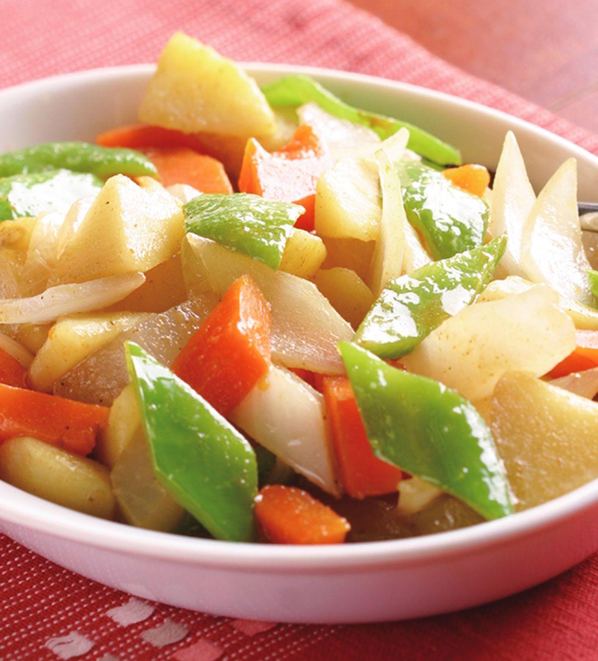 食譜:蔬菜咖哩(2)