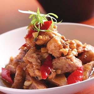 芋頭燒雞(1)