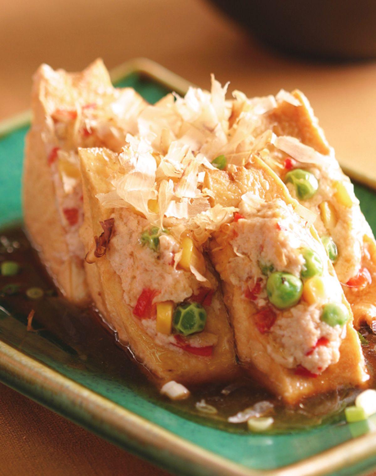 食譜:紅燒油豆腐鑲肉