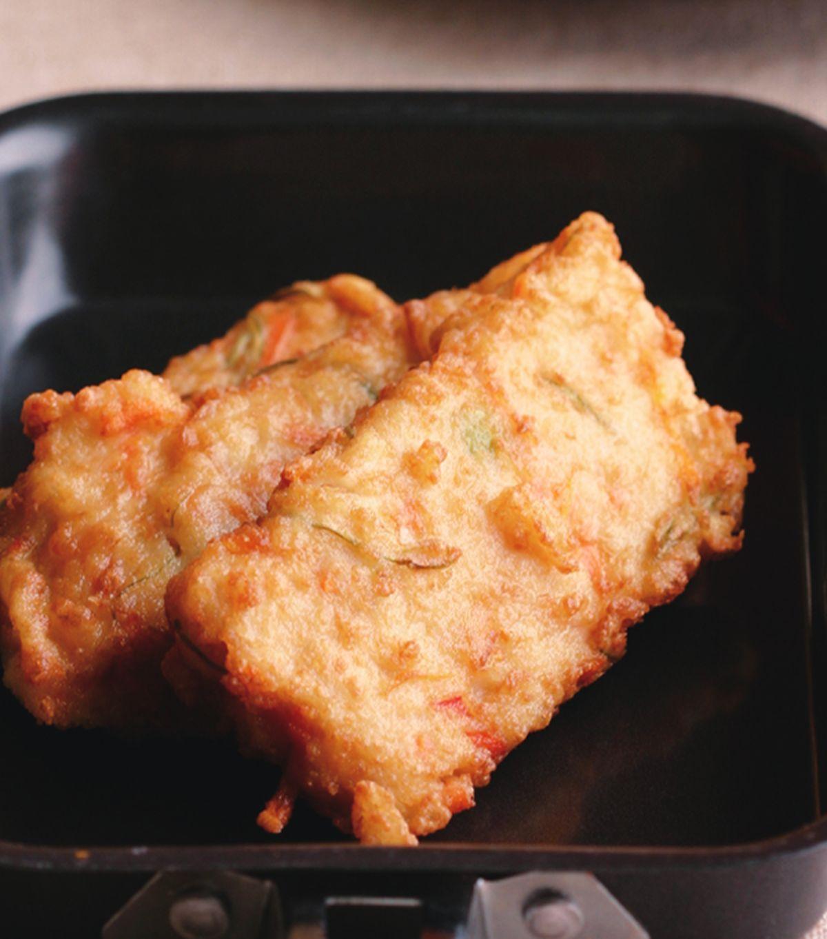食譜:香煎豆腐餅