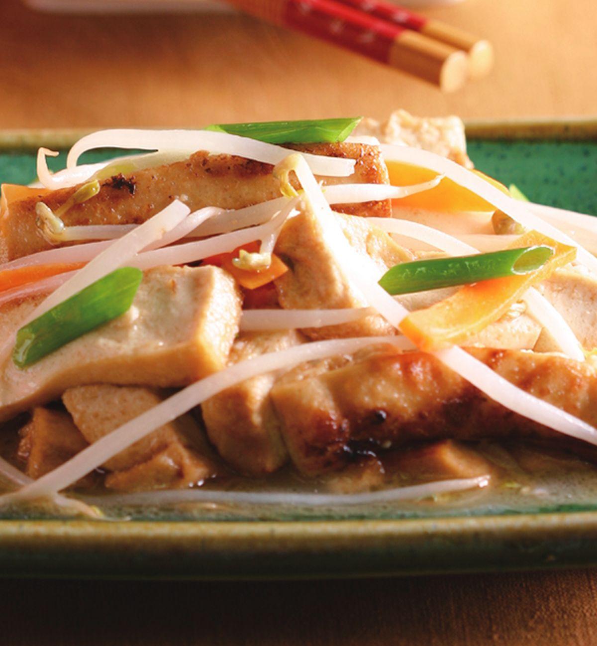食譜:紅燒銀芽豆腐
