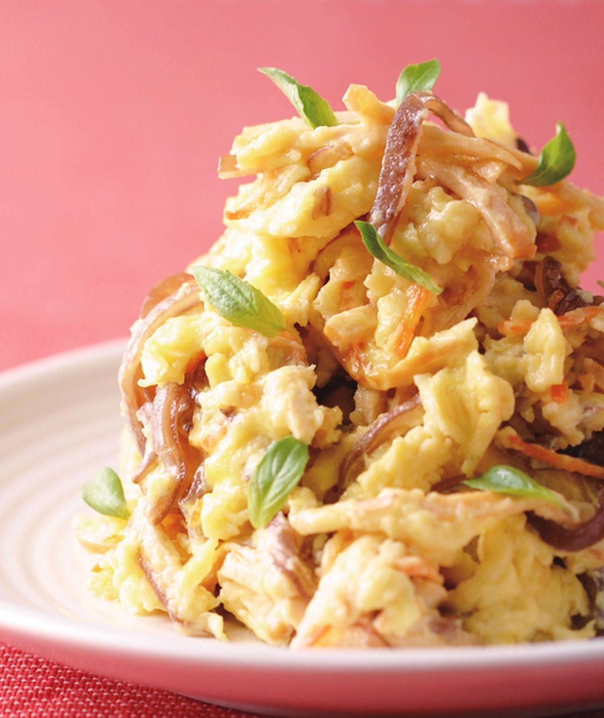 食譜:木須炒蛋