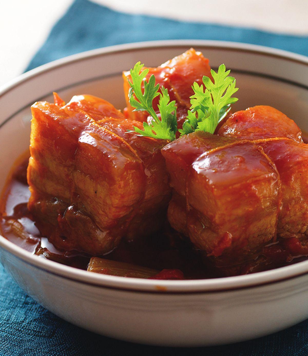 食譜:茄汁東坡肉