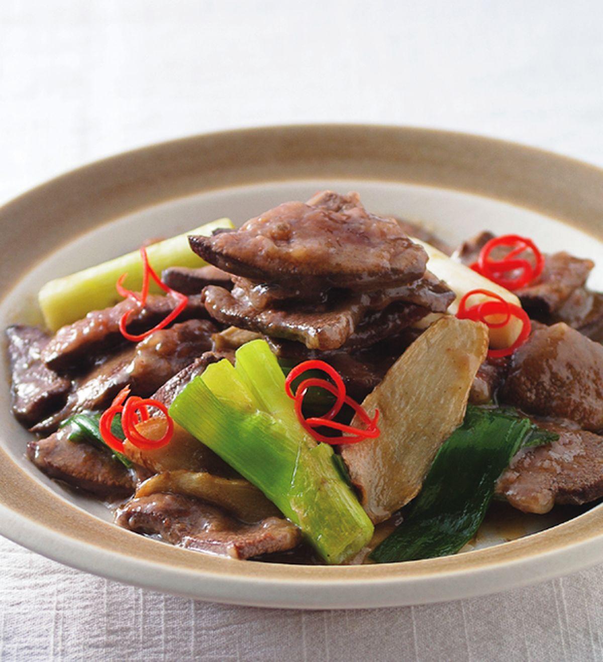食譜:麻油炒豬肝