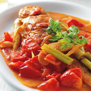 乾煎茄汁黃魚