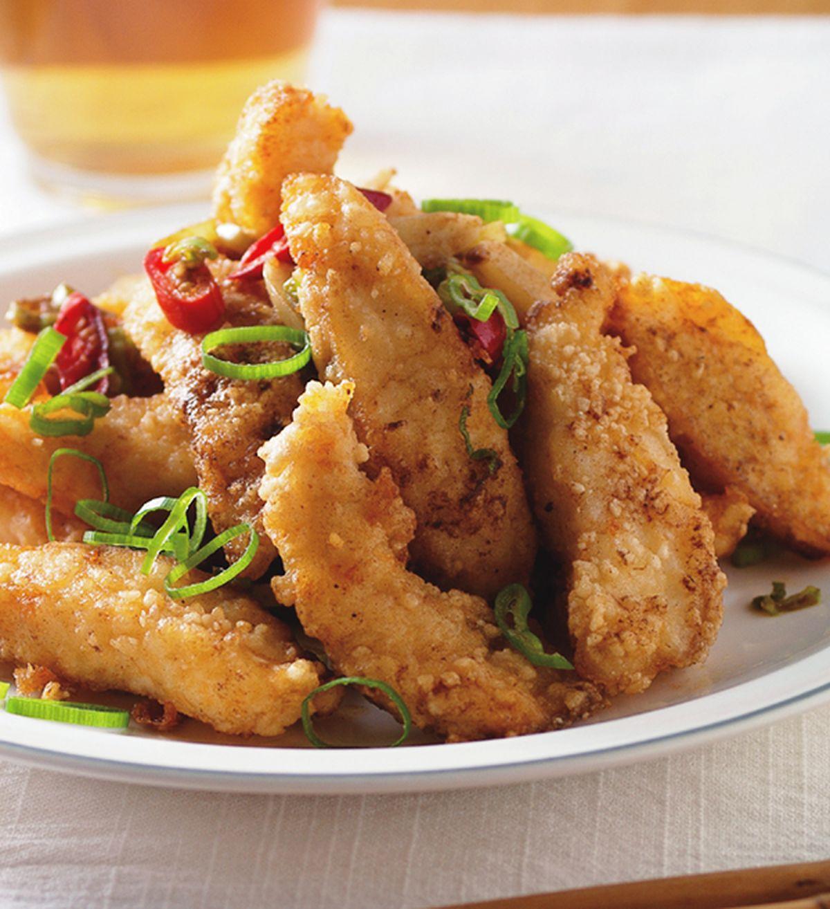 食譜:椒麻炒魚柳