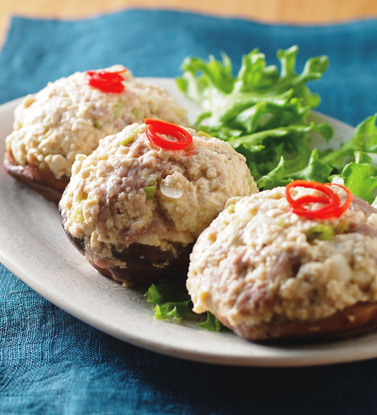 食譜:香菇蒸豆腐