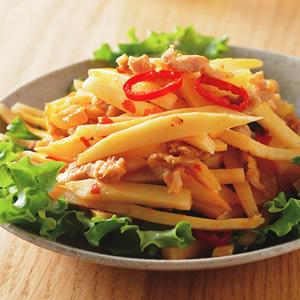 竹筍炒肉絲豆瓣