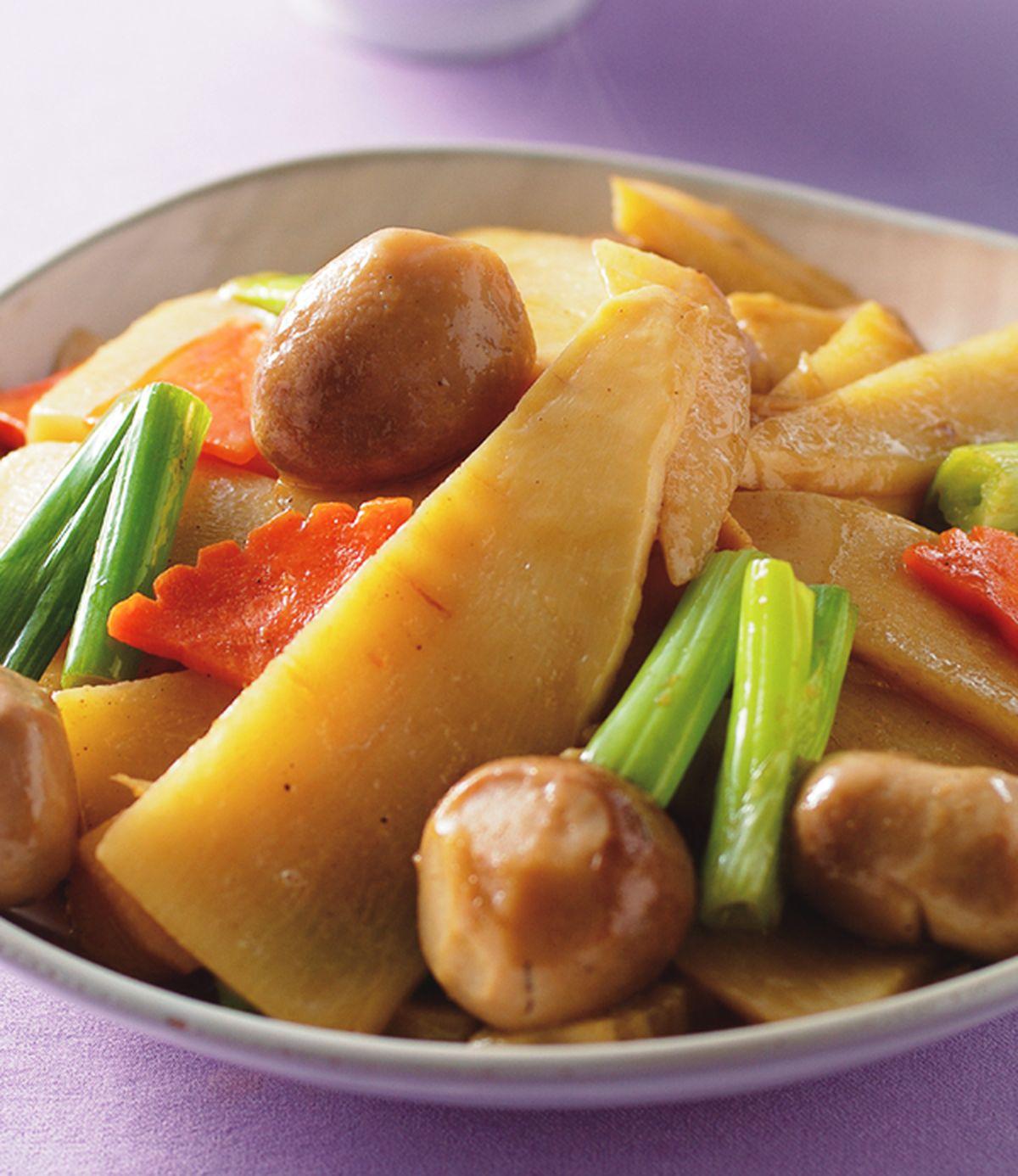 食譜:清炒雙冬