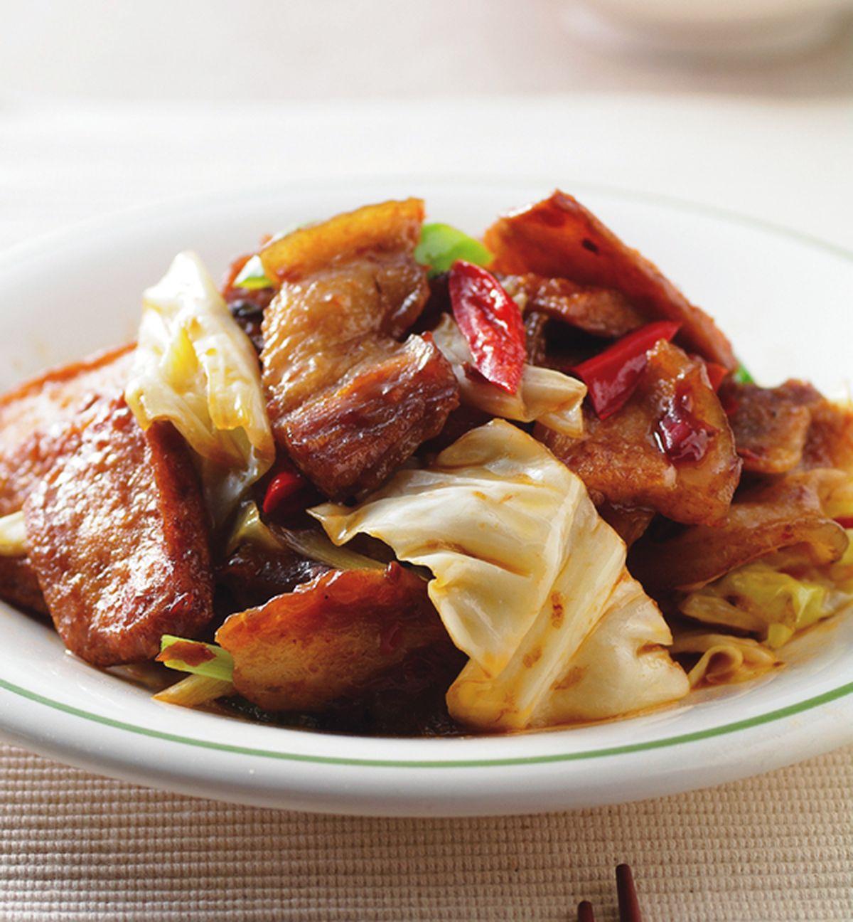 食譜:炒回鍋肉片