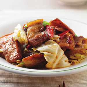 炒回鍋肉片