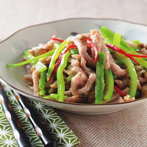 青椒炒肉絲(3)