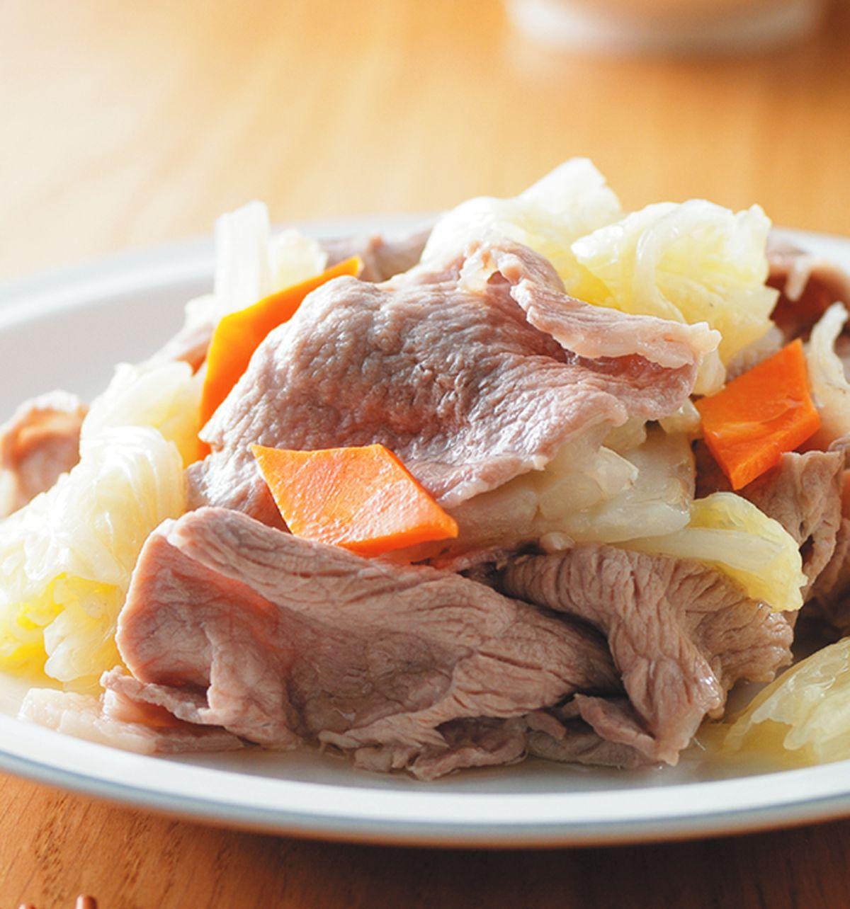 食譜:酸白菜炒肉