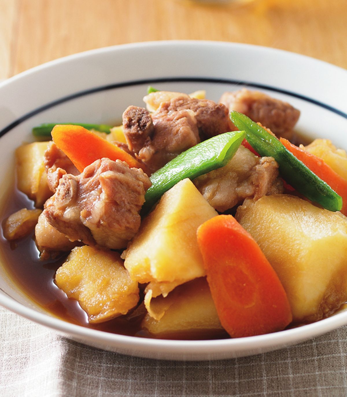 食譜:馬鈴薯燉肉(2)