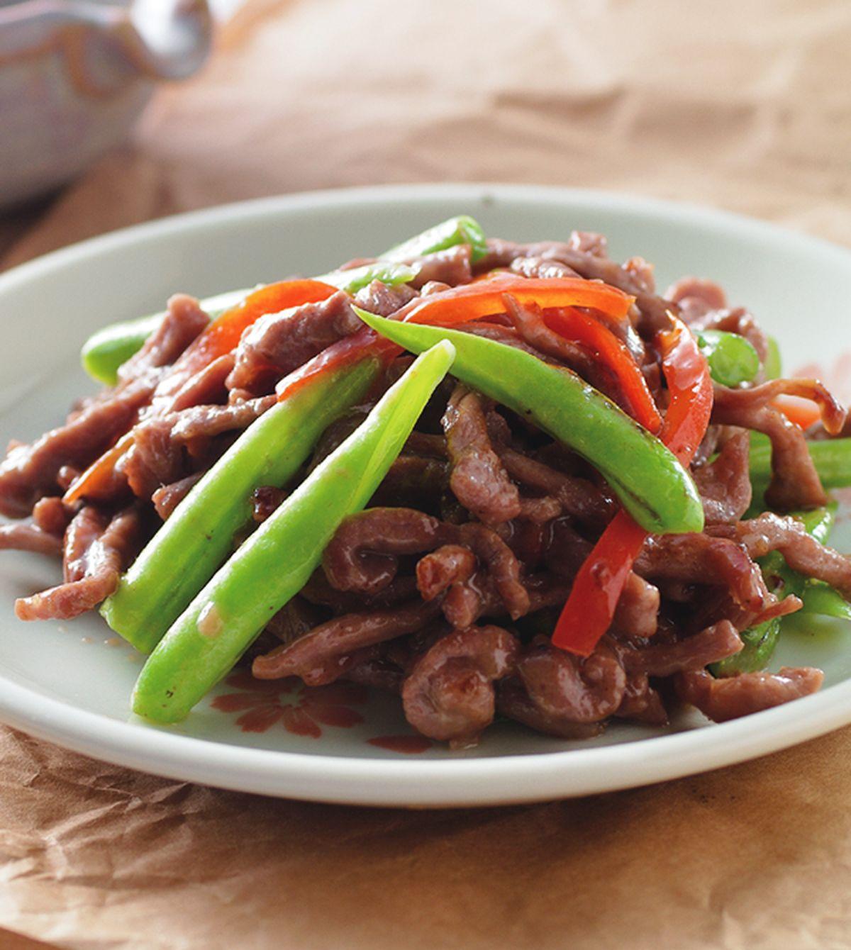 食譜:乾煸牛肉絲