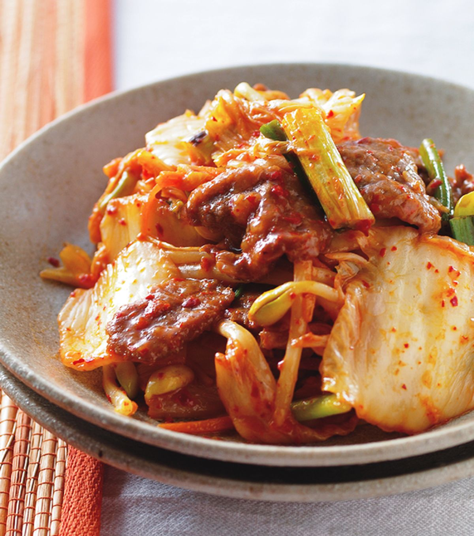 食譜:泡菜炒牛肉