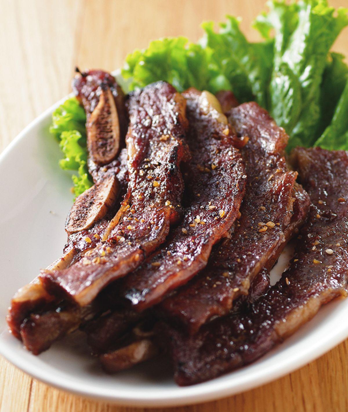 食譜:烤牛小排(2)