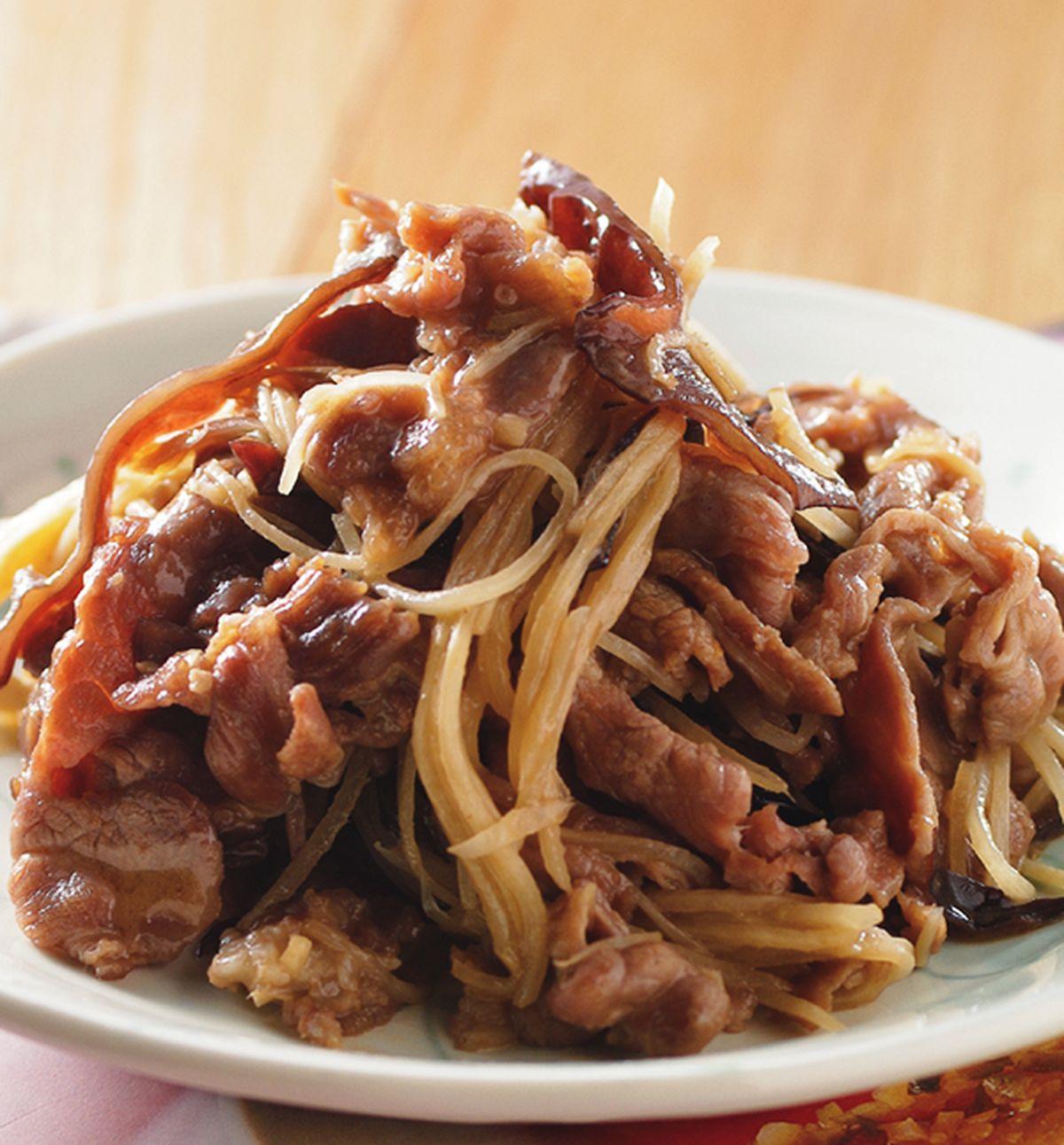 食譜:麻油薑絲炒羊肉(1)