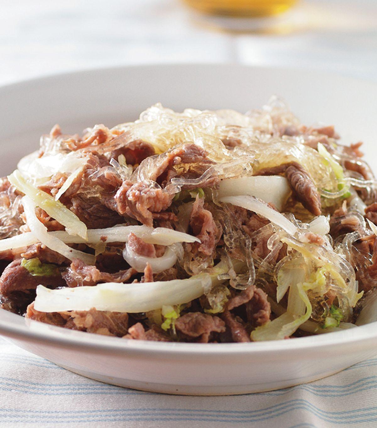 食譜:羊肉酸菜炒粉絲