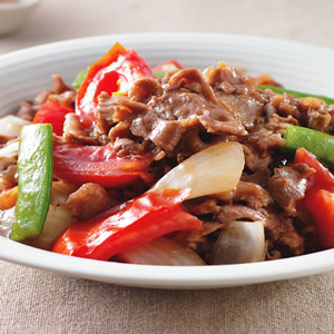 蕃茄炒羊肉