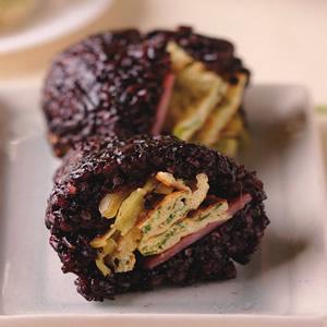 紫米飯糰(1)