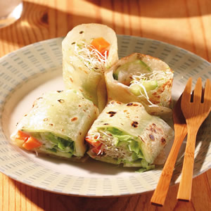 蔬菜蛋餅(2)