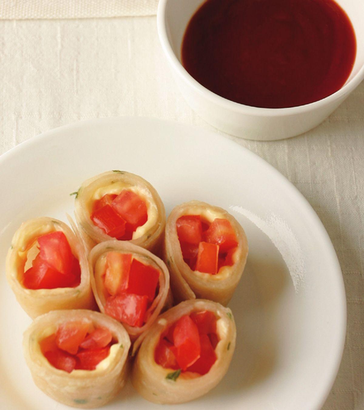 食譜:番茄起司蛋餅