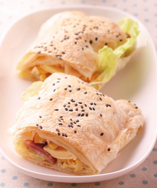 食譜:鮮蔬起司燒餅