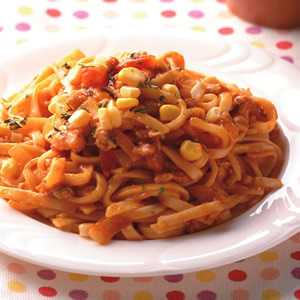 番茄麵醬鐵板麵