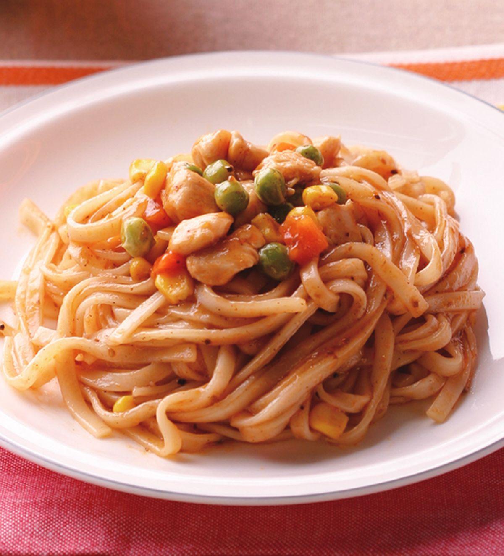食譜:蘑菇鐵板麵