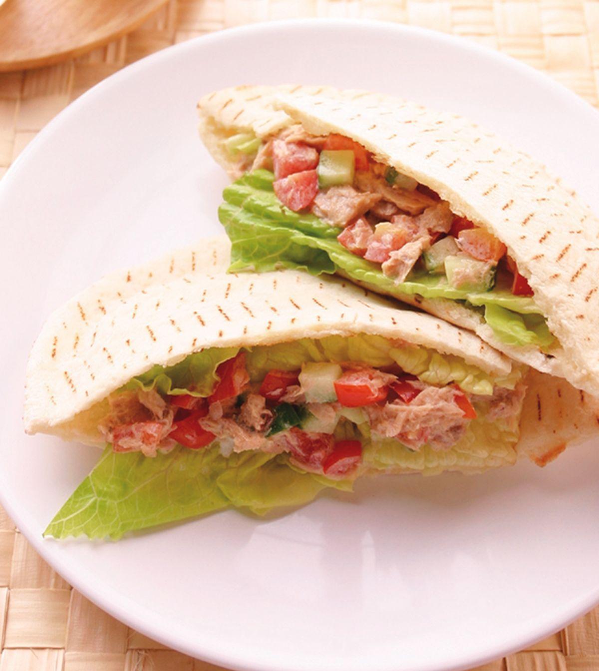 食譜:鮪魚洋蔥口袋餅