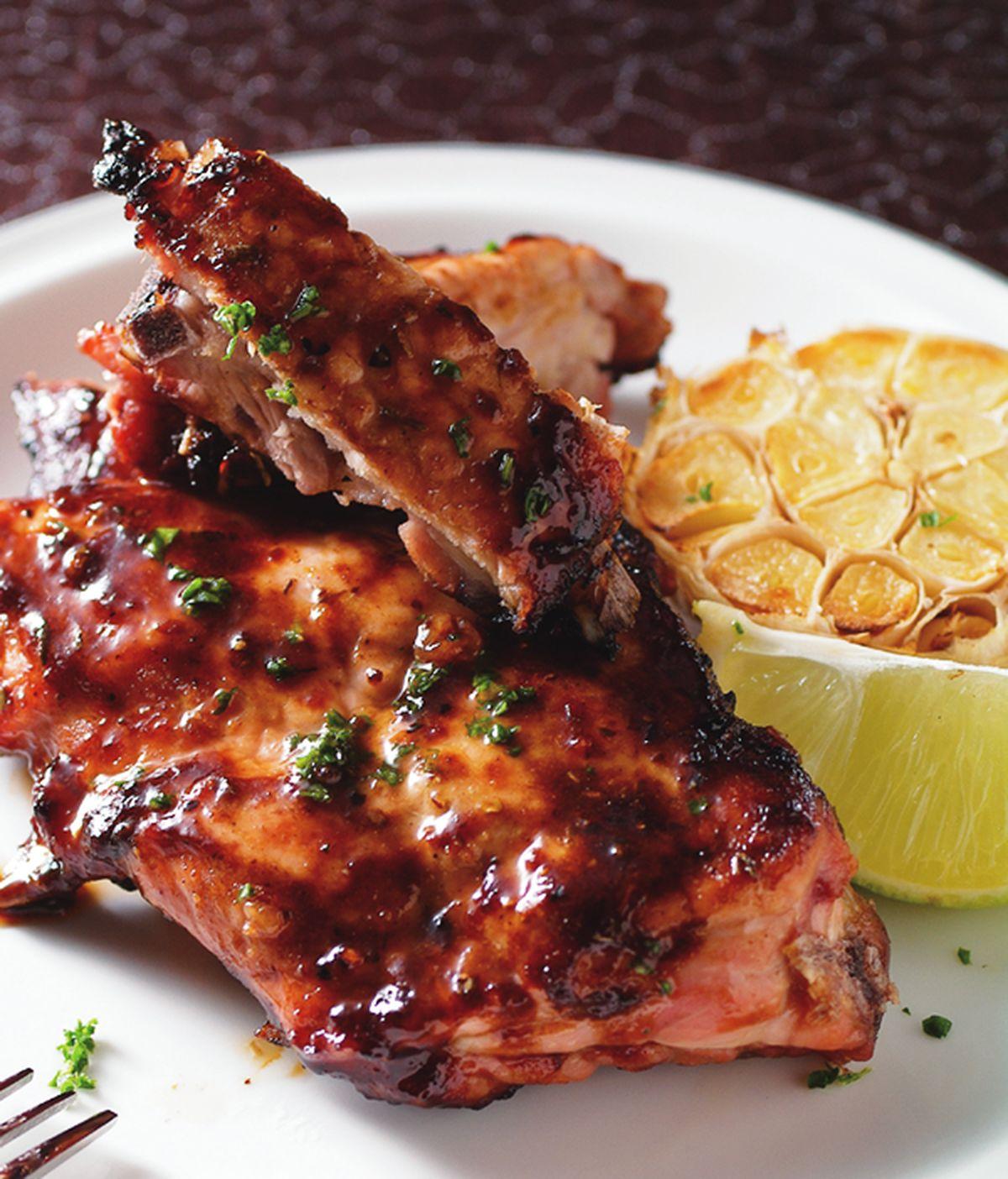 食譜:BBQ豬肋排
