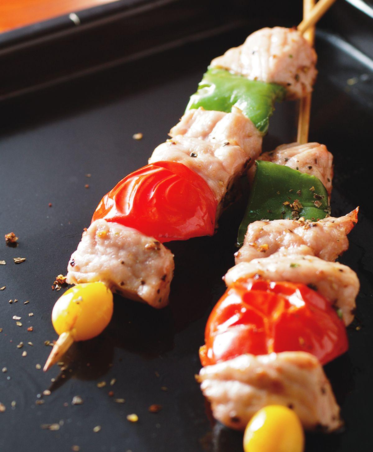 食譜:烤蔬菜肉串