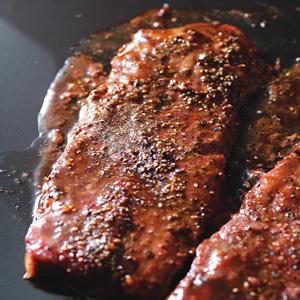 黑胡椒烤小牛排