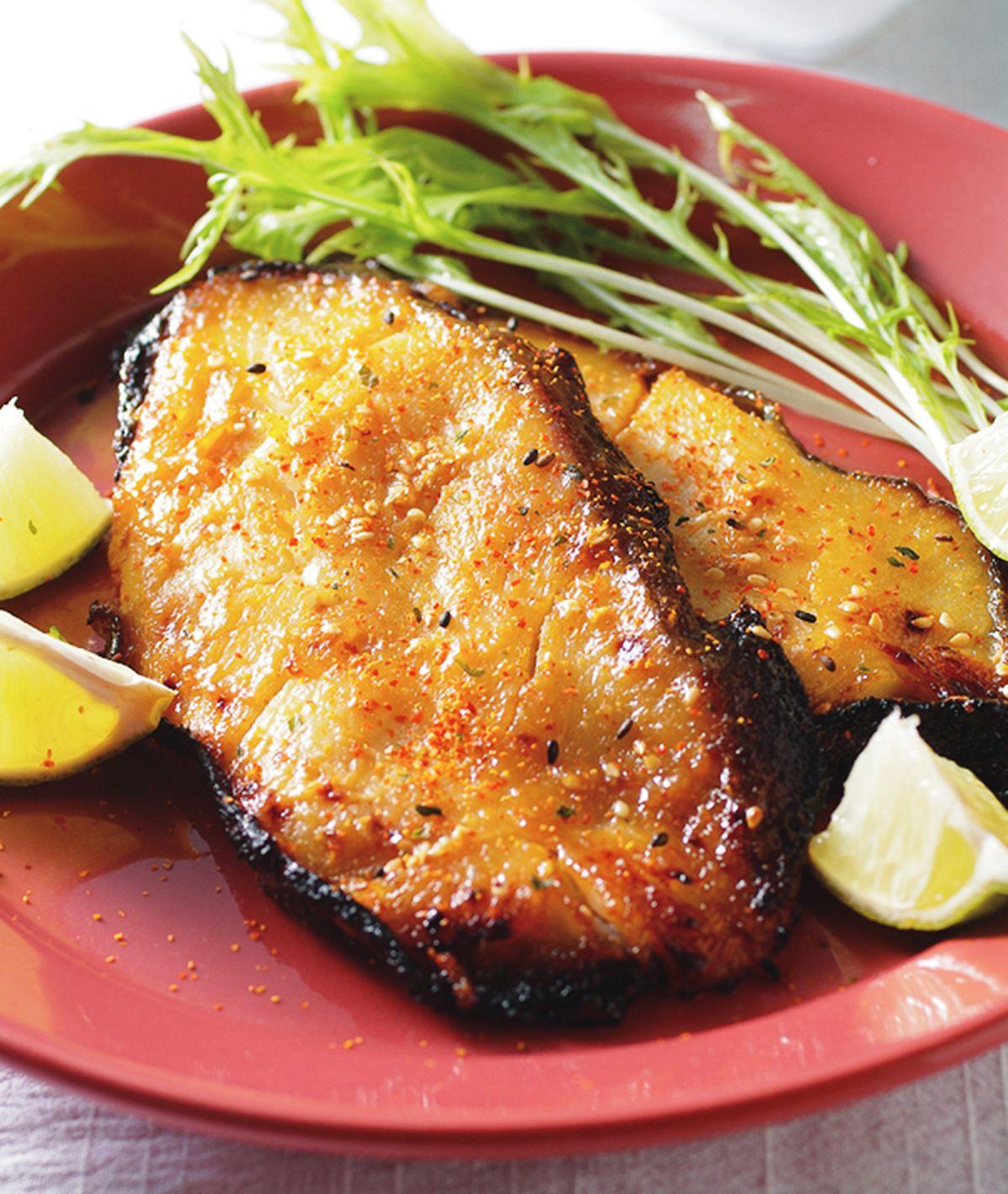 食譜:味噌醬烤鱈魚