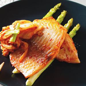 韓式辣味烤鯛魚
