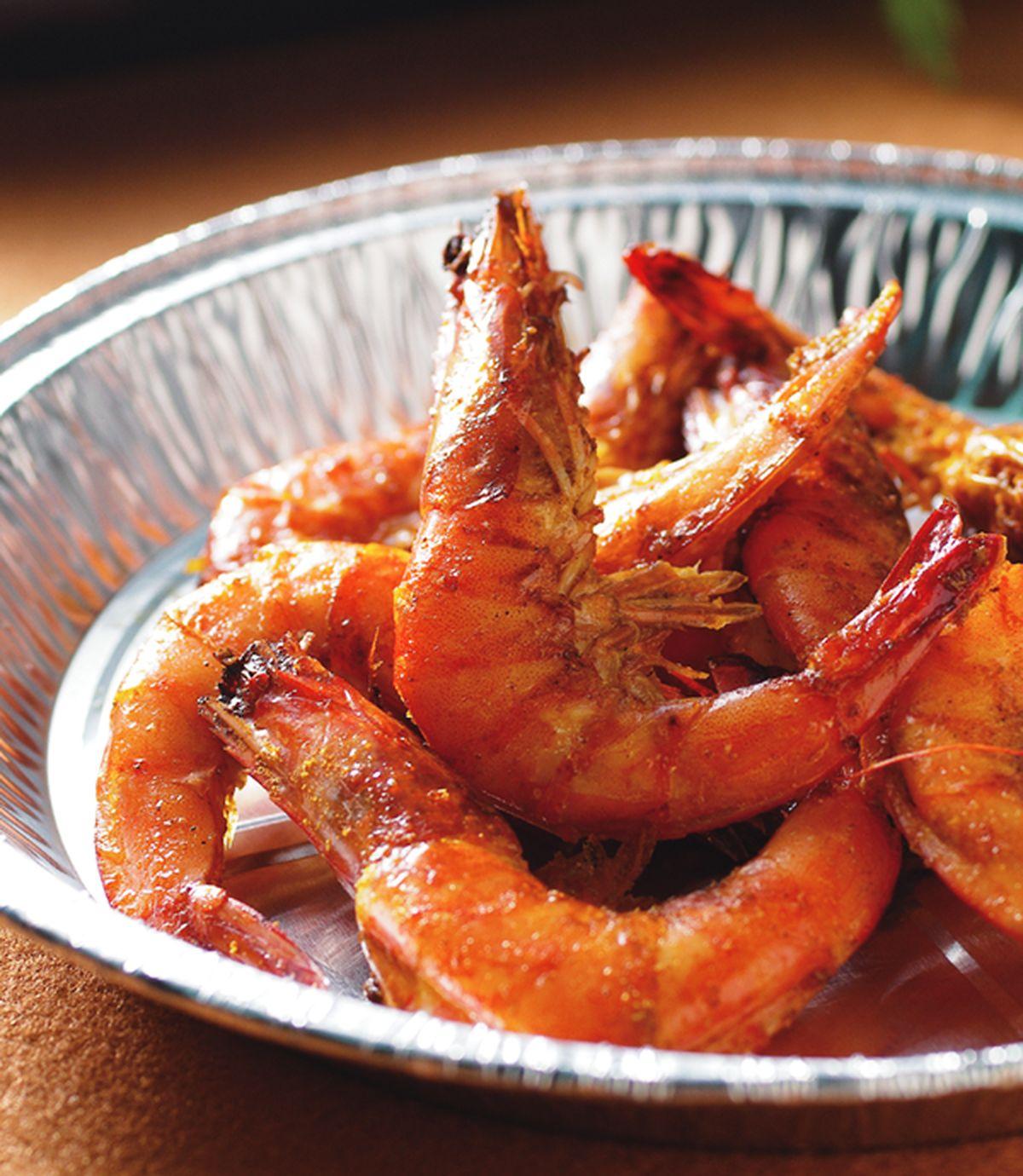 食譜:咖哩烤鮮蝦