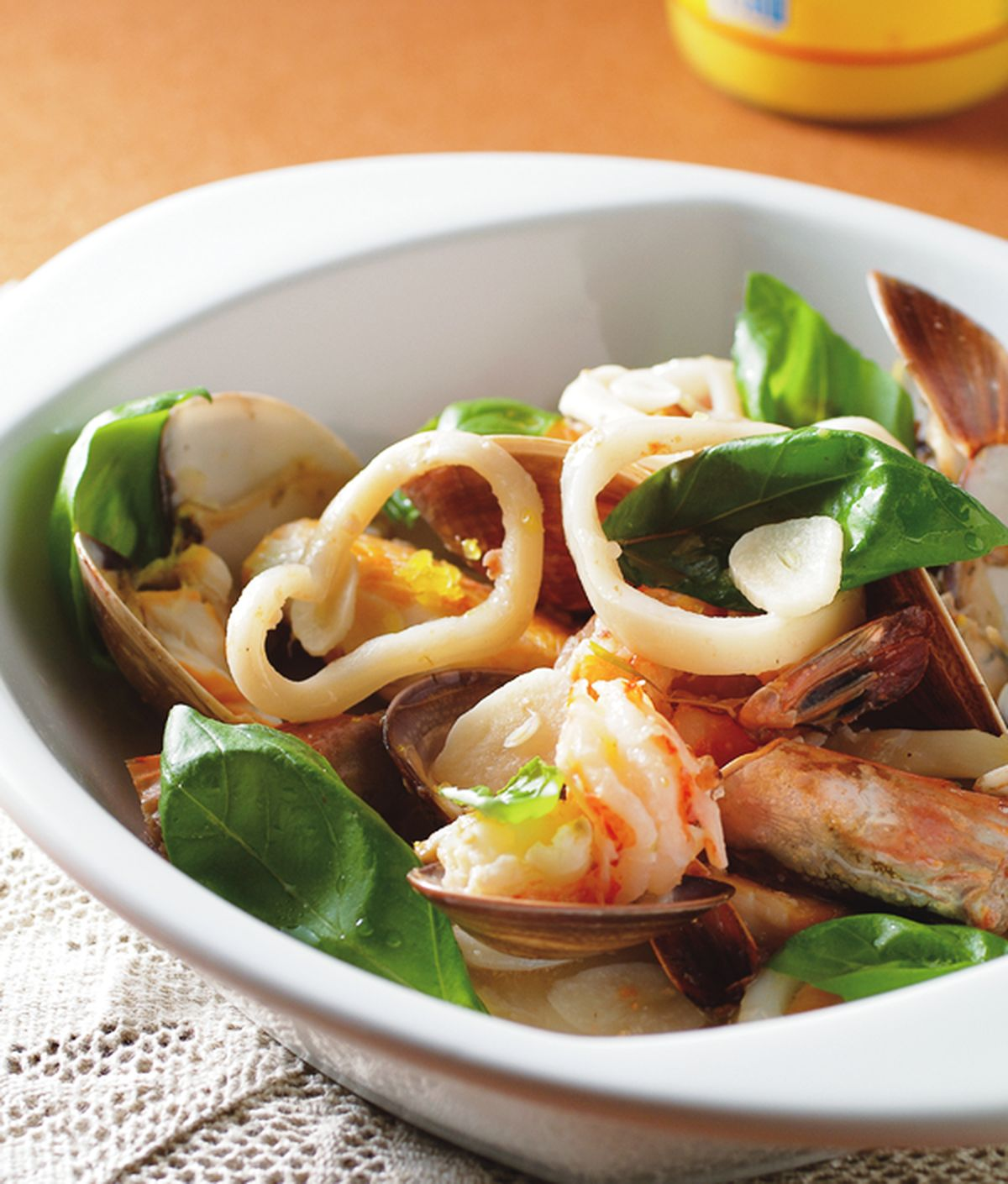 食譜:蒜蓉烤海鮮