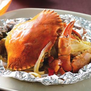 奶油烤螃蟹