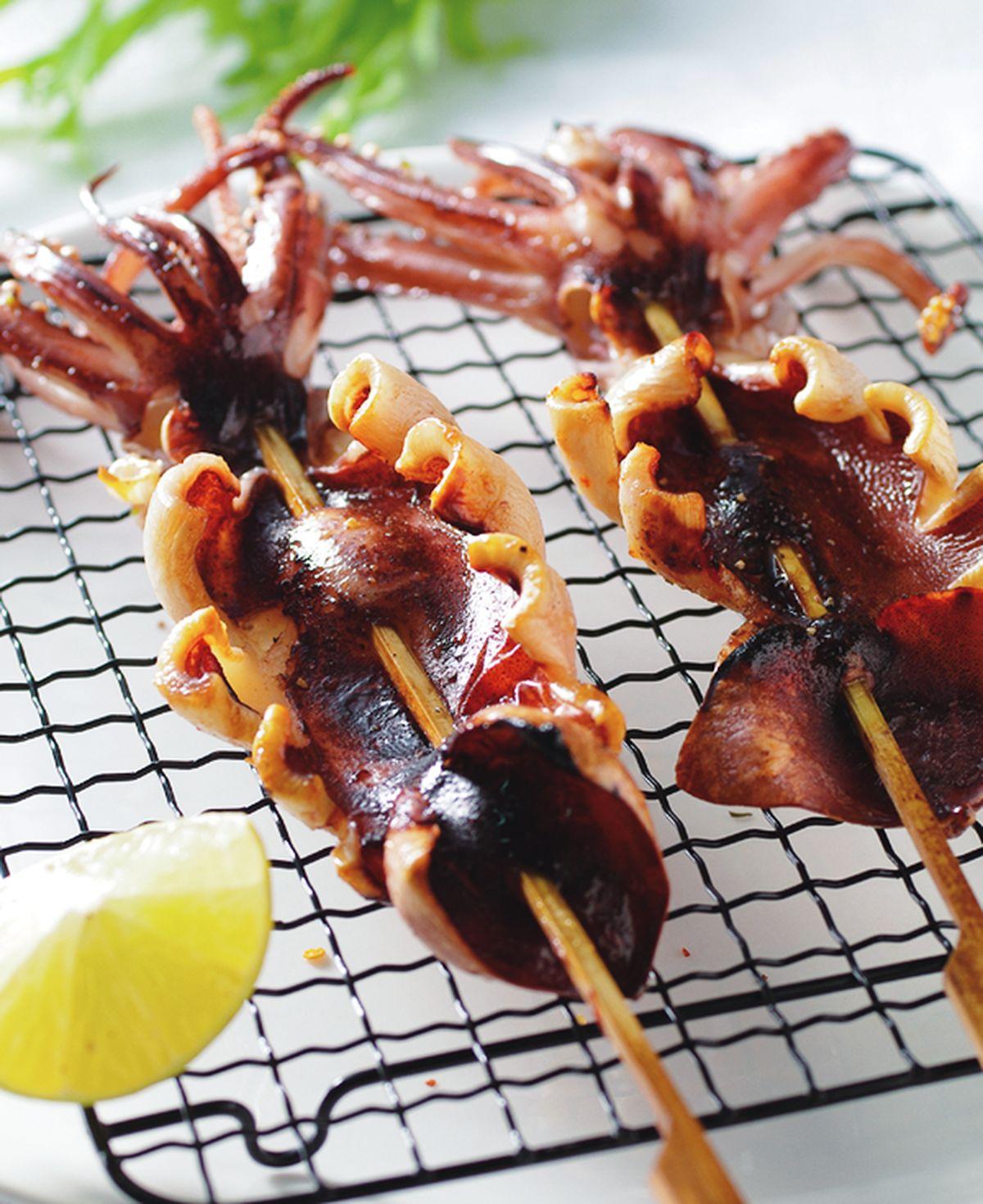食譜:胡椒烤魷魚