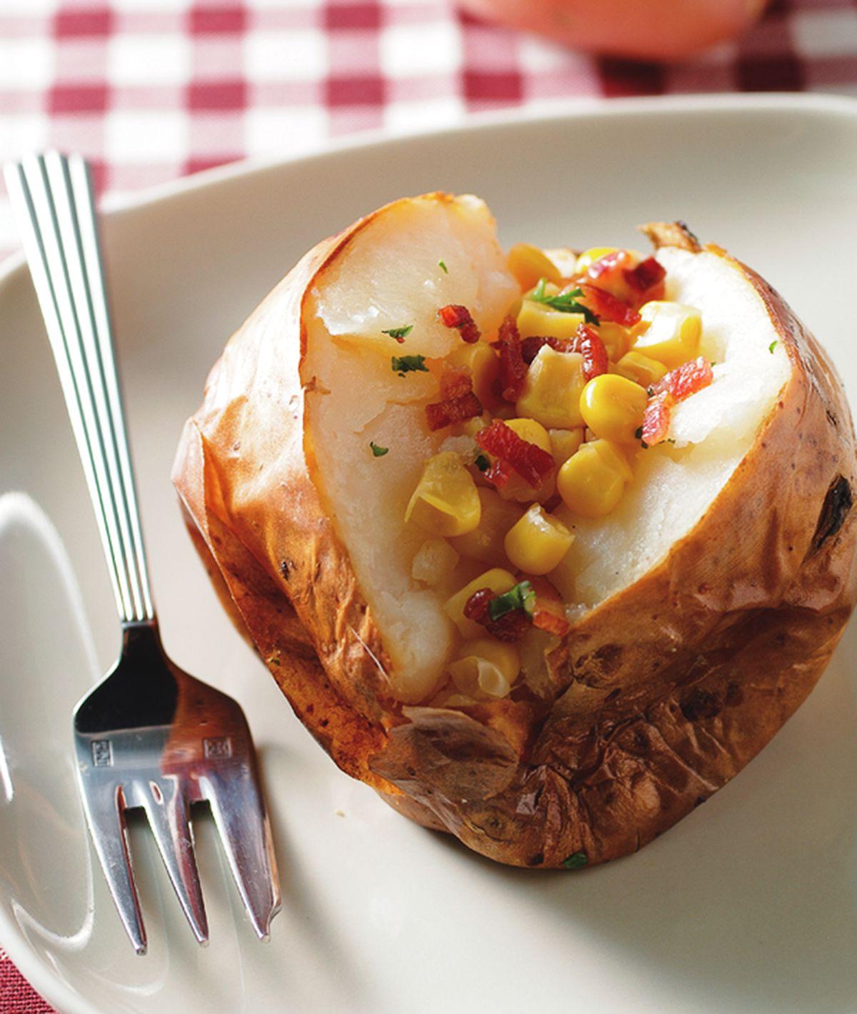 食譜:奶油培根烤馬鈴薯