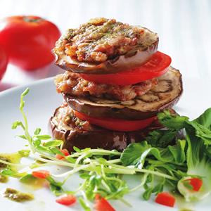 肉末鮮烤圓茄