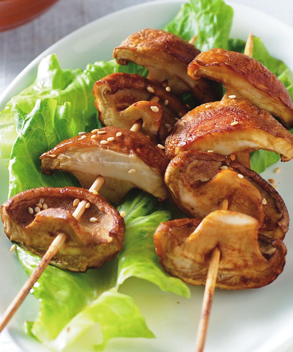 食譜:烤鮮菇串