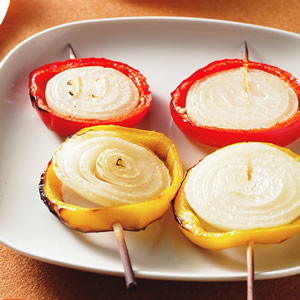 甜椒洋蔥串